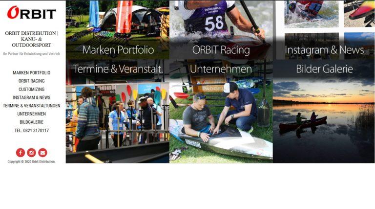 Homepage neues Design Screenshot