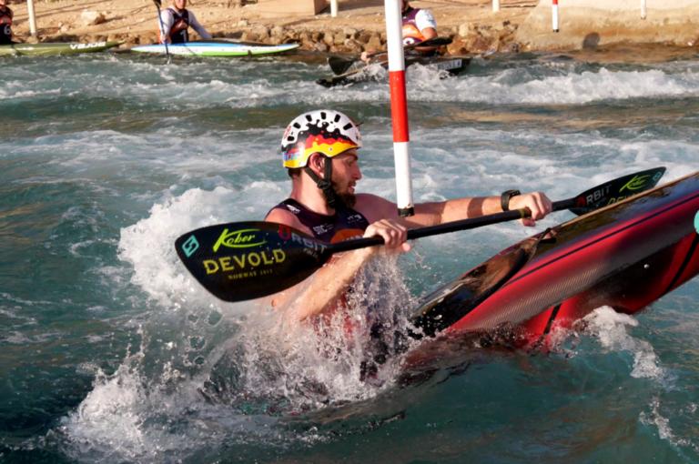 Kanuslalom Stefan Hengst Orbit Racing Cube Kober Paddle Wadi Adventure