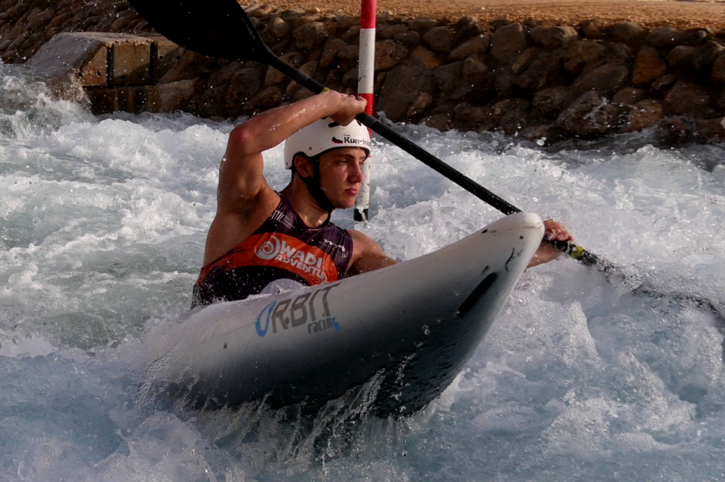 Kanuslalom Thomas Staruß Orbit Racing Cube Wadi Adventure