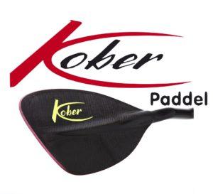Kober Paddel Logo mit Scorpion